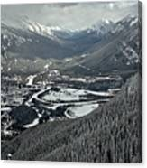 Norquay Banff Town Views Canvas Print