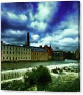 Norrkoping Waterfall Canvas Print