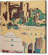 North African Landscape Canvas Print
