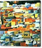 North African Townscape Canvas Print
