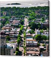 North Ave New Rochelle Canvas Print