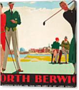 North Berwick, A London And North Eastern Railway Vintage Advertising Poster Canvas Print