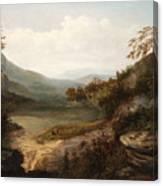 North Carolina Mountain Landscape Canvas Print