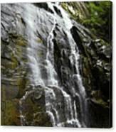 North Carolina Waterfall Hickory Nut Falls Photography  Canvas Print