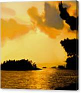 North Channel Sunset Canvas Print