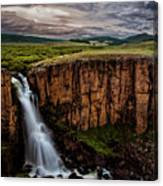 North Clear Creek Falls Canvas Print