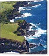 North Coast Of Maui Canvas Print
