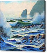North Coast Surf Canvas Print