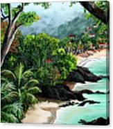 North Coast Tobago Canvas Print