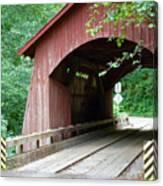 North Fork Yachats Bridge 2 Canvas Print