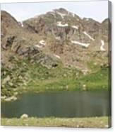 North Halfmoon Lake 2 Canvas Print