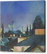 North Hollywood Sky Line Canvas Print