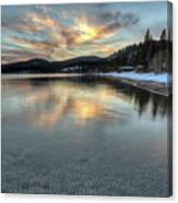 North Lake Tahoe Spring Sunset Canvas Print