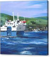 North Link - Stromness Canvas Print