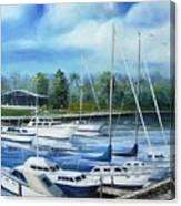 North Myrtle Beach Marina Canvas Print