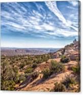 North Of Moab Canvas Print