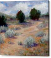 North Of Santa Fe  Canvas Print