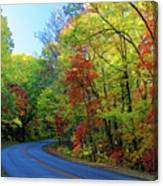 North Of The Folk Art Center In Fall Canvas Print