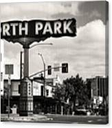 North Park San Diego Canvas Print