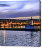 North Pier Evening Canvas Print