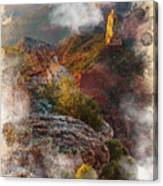 North Rim Of The Grand Canyon Canvas Print