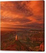North Rim Storm Clouds Grand Canyon National Park Arizona Canvas Print