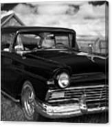 North Rustico Vintage Car Prince Edward Island Canvas Print