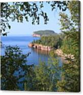 North Shore Lake Superior Canvas Print