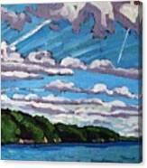 North Shore Stratocumulus Streets Canvas Print