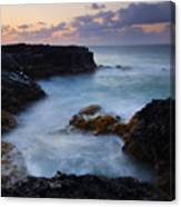 North Shore Tides Canvas Print