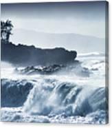 North Shore Waimea Bay Canvas Print
