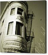 North Side Building Canvas Print