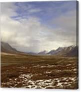 North Slope Dalton Highway Arctic Alaska Canvas Print