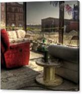 North St. Louis Porch Canvas Print