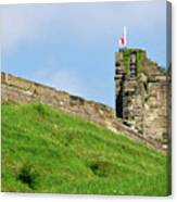 North Tower- Tutbury Castle Canvas Print