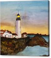 North Truro Light House Cape Cod Canvas Print