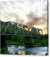 North Umpqua Crossing Canvas Print