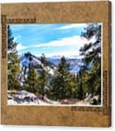 North View Canvas Print