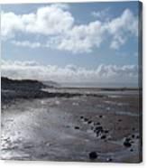 Northam Burrows Beach Canvas Print