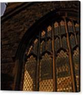 Northampton Church At Dusk Canvas Print
