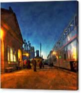Northbound Empire Builder Canvas Print