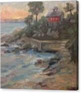 Northeast Sunset Canvas Print