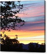 Northern Ca June Sunset  Canvas Print