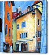 Northern Italian Town Canvas Print
