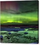 Northern Lights Pendells Creek -7824 Canvas Print