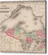Northern Michigan And Lake Superior Canvas Print