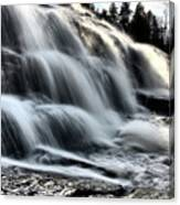 Northern Michigan Up Waterfalls Bond Falls Canvas Print