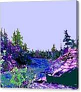 Northern Ontario River Canvas Print