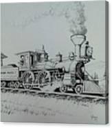 Northern Pacific Centennial Gold Creek Montana Canvas Print