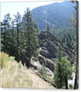 Northern Rockies Missoula  Montana  Canvas Print